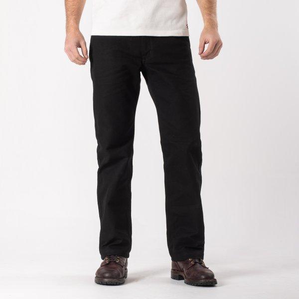 Black 17oz Cotton Work Pants