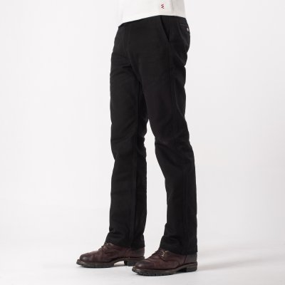 Black 17oz Cotton Work Pants