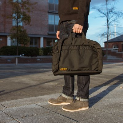 Black Cordura® Laptop Bag