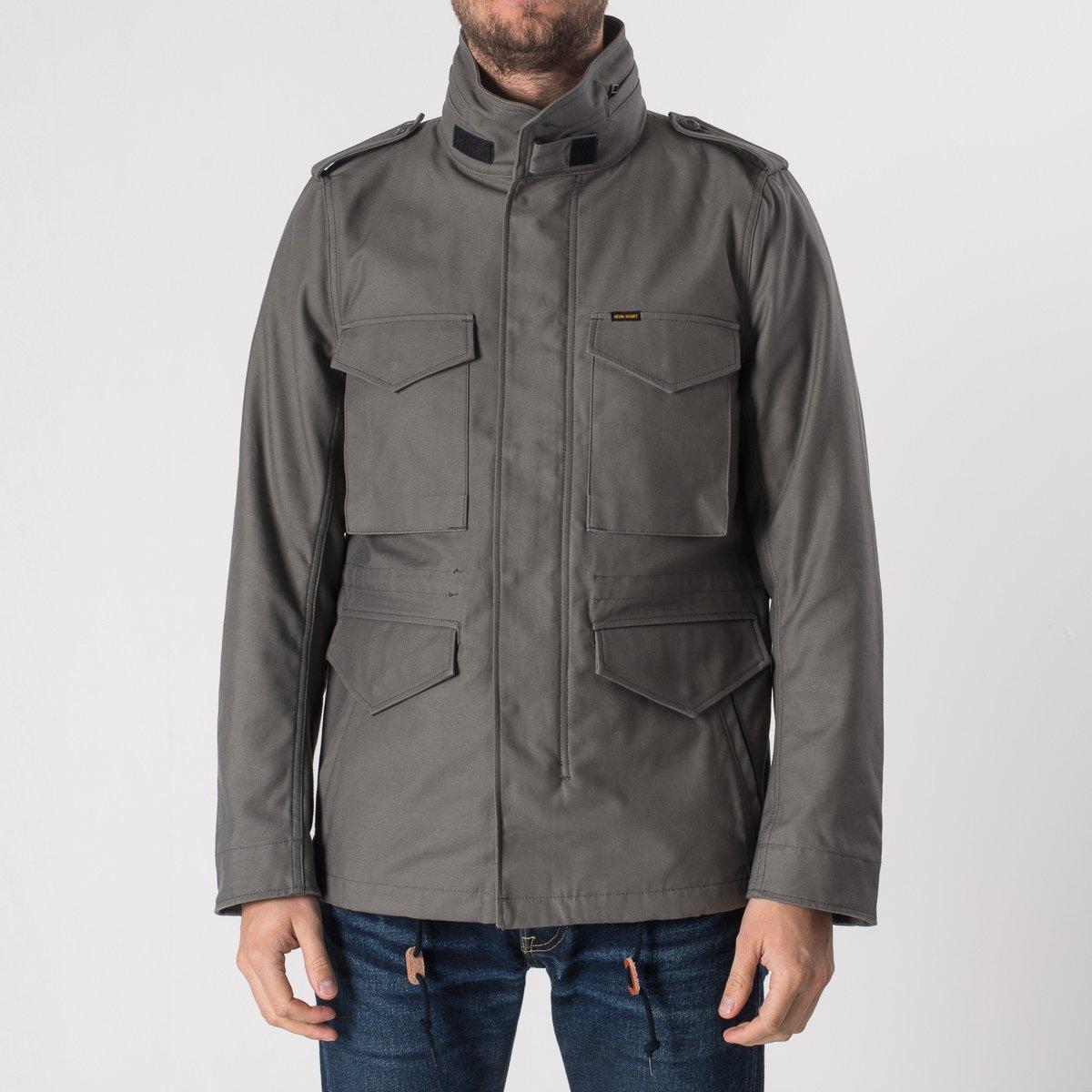 bdab05dd6 Sateen M65 Field Jacket - Grey