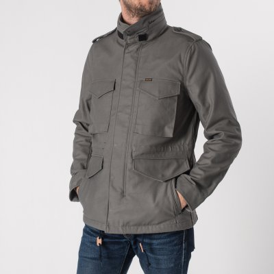 Sateen M65 Field Jacket - Grey
