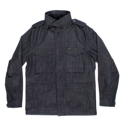 14oz Indigo Selvedge M65 Field Jacket
