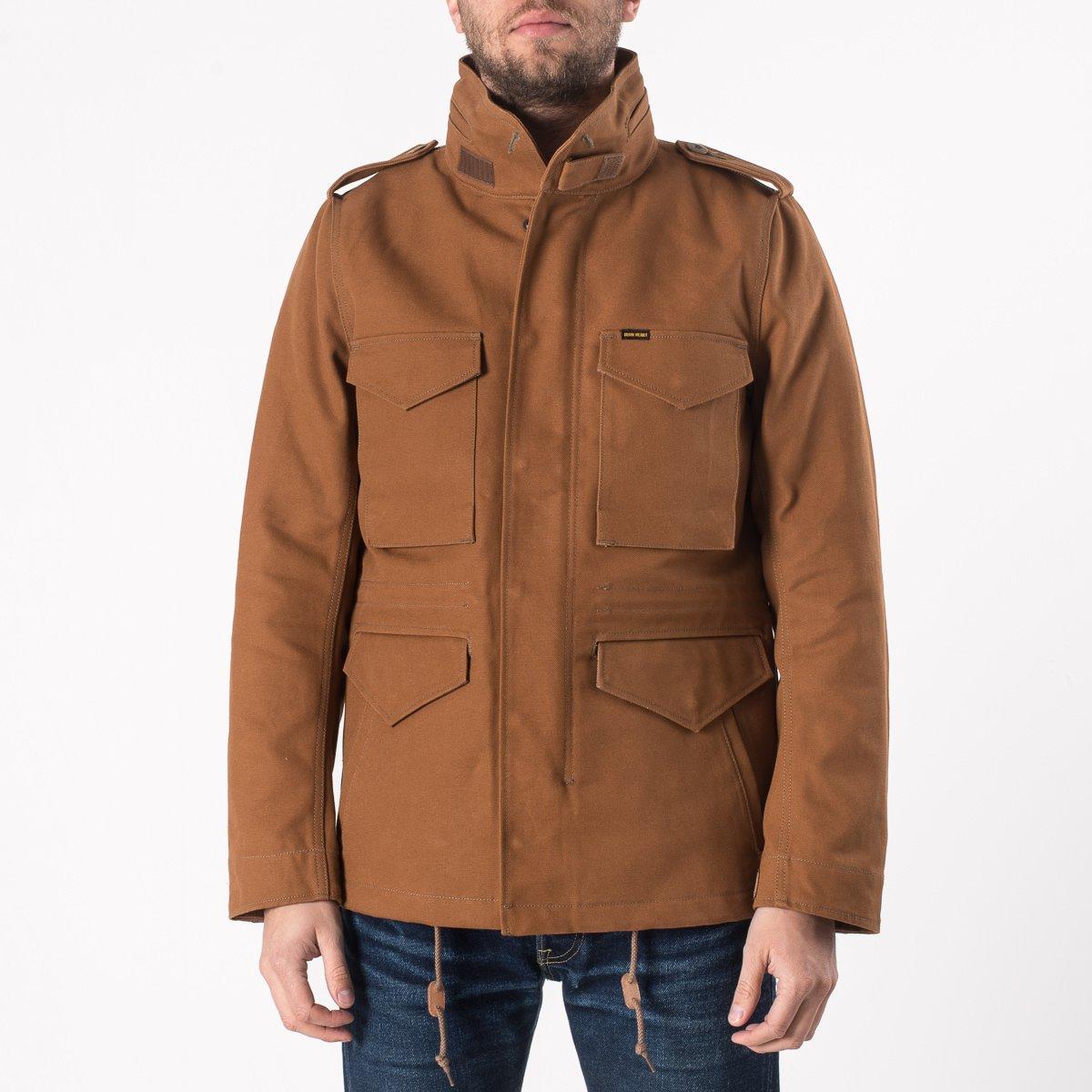 065c15c8c Cotton Duck M65 Field Jacket - Brown