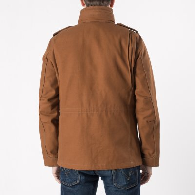 Cotton Duck M65 Field Jacket - Brown