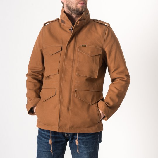 Cotton Duck M65 Field Jacket - Brown