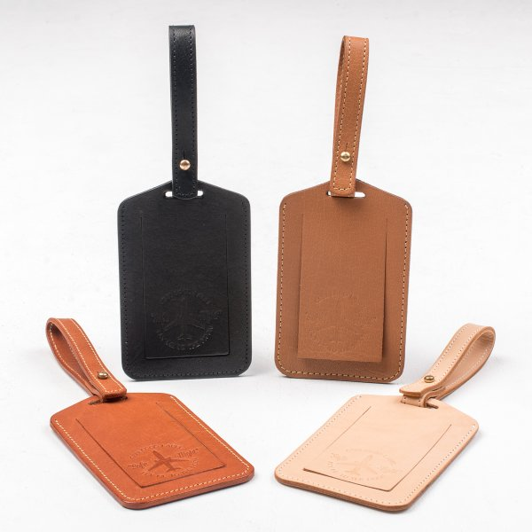 OGL FMTTM Leather Luggage Tag