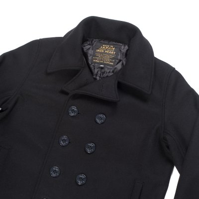 Melton Wool Pea Coat