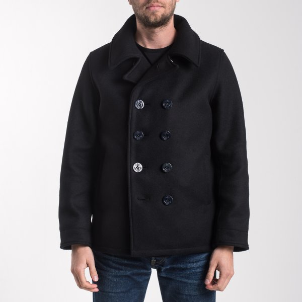 Melton Wool Pea Coat