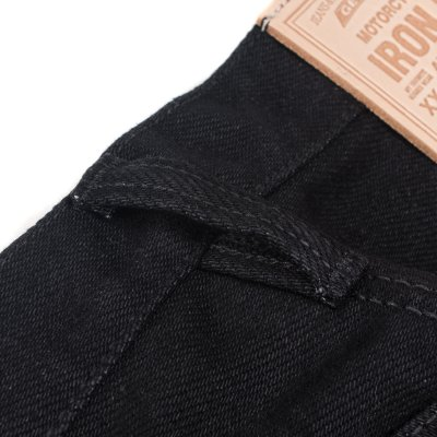 21oz Serge Super Slim Cut in Black
