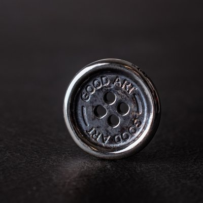 GOOD ART HLYWD Sterling Silver Buttons (5 Styles)