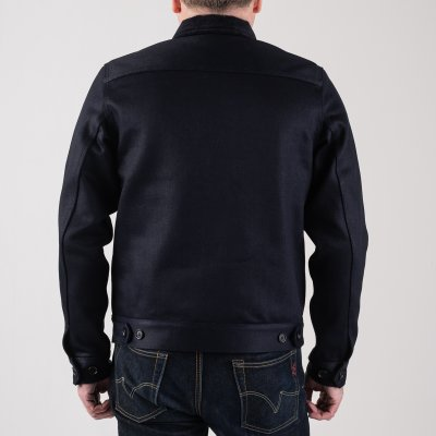 21oz Indigo Serge Work Jacket