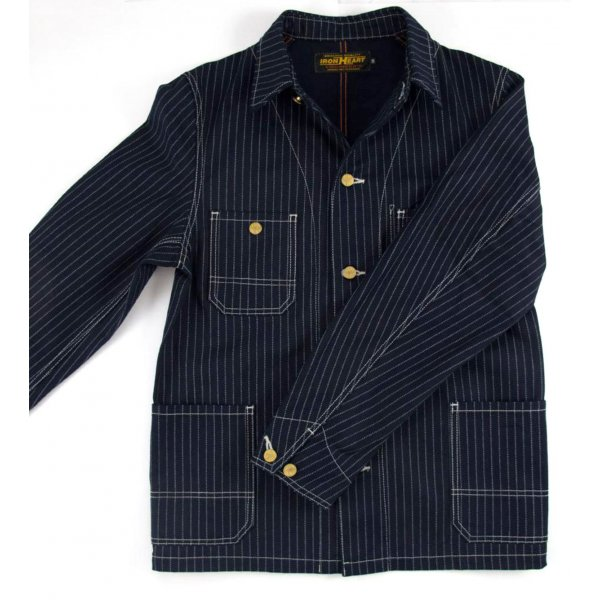 Indigo Wabash Chore Jacket