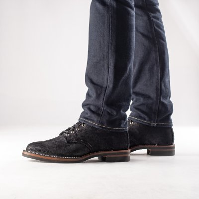 """The Bootery/Wesco® - Black Rough-Out """"Foot Patrol"""""""