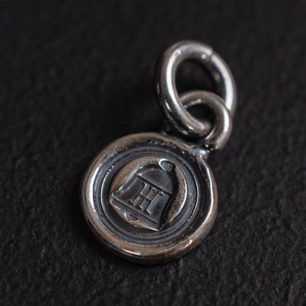 Bell Logo Pattern Silver Charm