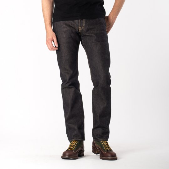 Indigo 22oz Selvedge Pronto Denim Slim Tapered Cut