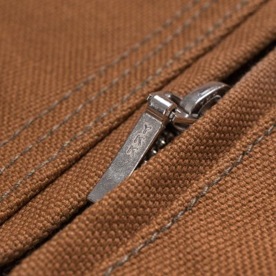 17oz Brown Cotton Duck Work Jacket