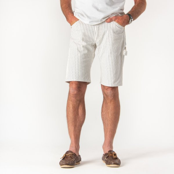 Wabash Painter's Shorts in White