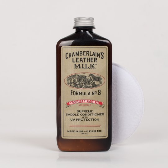 Chamberlain's Leather Milk No. 8 - Premium Saddle Conditioner