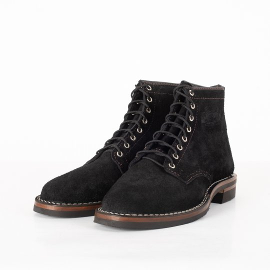 "The Bootery/Wesco® - Black Rough-Out ""Foot Patrol"""