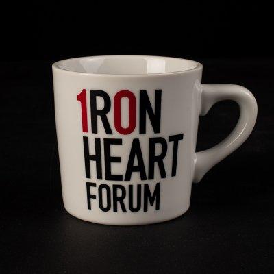 Iron Heart 10 Year Forum Anniversary Mug