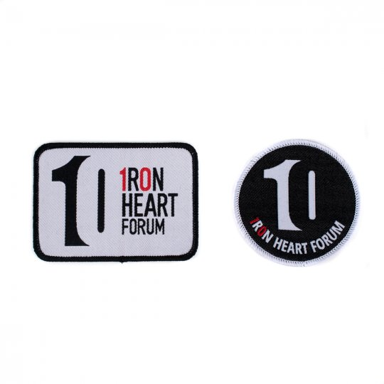 Iron Heart 10 Year Forum Anniversary Patch