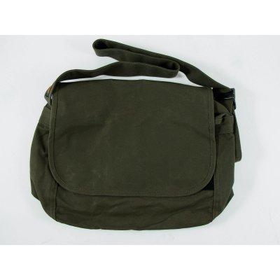 Waxed Cotton Duck Messenger Bag