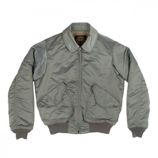 Green Water-Resistant Nylon Thinsulate CWU-45P Type Flight Jacket