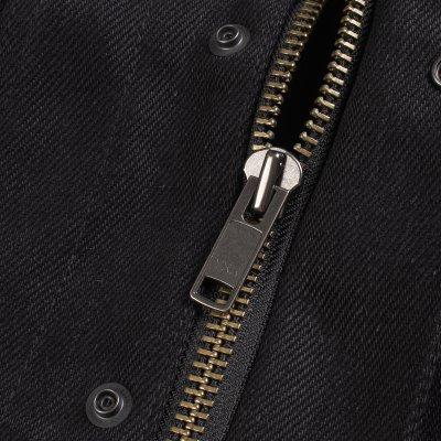 Ignition Works 20oz Denim Tracker Vest - Black