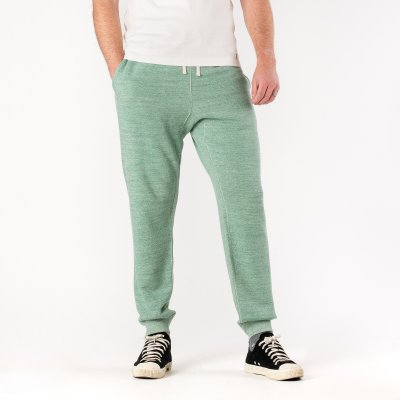 Heavy Loopwheel Fleece Lined Sweat Pants - Grey