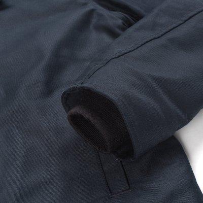 Whipcord Pea Coat - Navy