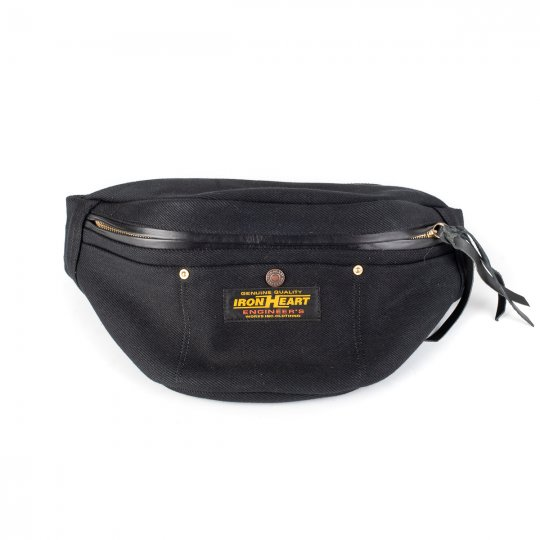 21oz Denim Waist Bag - Superblack