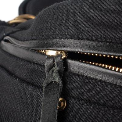 21oz Denim Waist Bag - Superblack