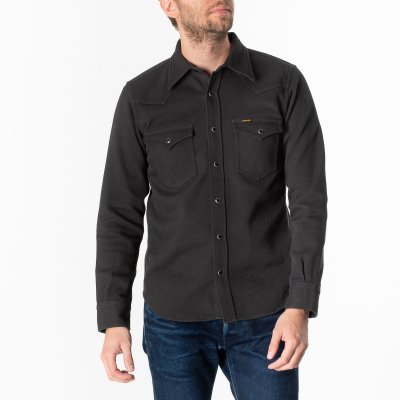 Kersey Western Shirt - Dark Grey