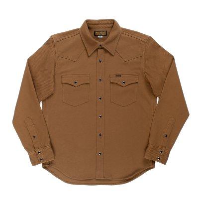 Kersey Western Shirt - Camel