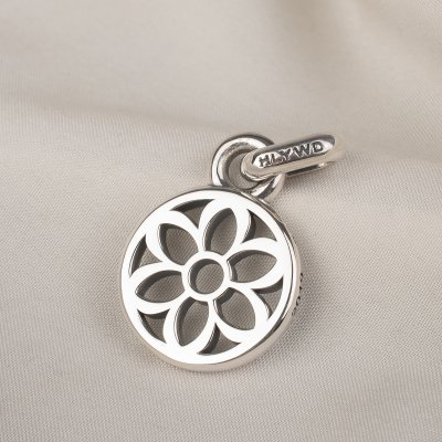 GOOD ART HLYWD Roadway Pendant Small - Sterling Silver