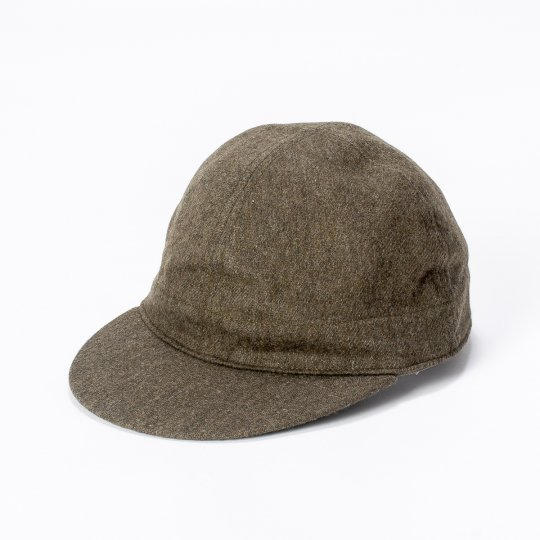 Papa Nui - The Aleutian Cap, Olive Drab Wool