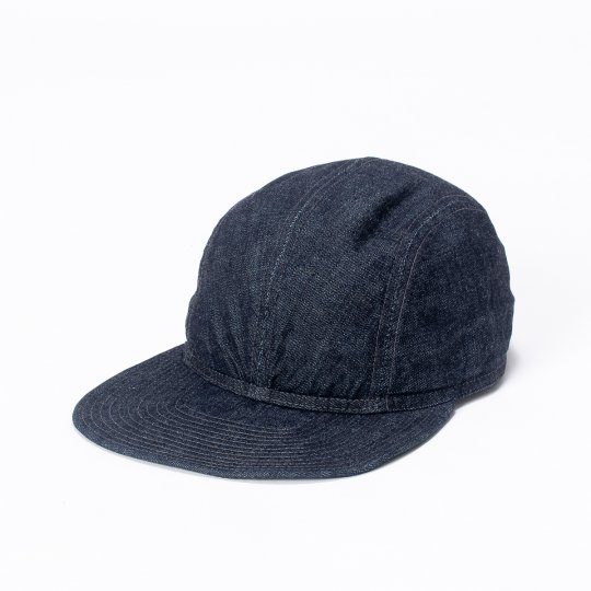 Papa Nui - The PT 109'ers Cap, Indigo Denim