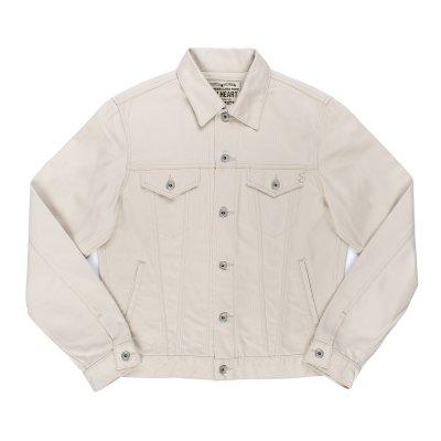 14oz Cotton Piqué Modified Type III Jacket - Ecru