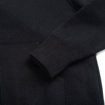 Ultra Heavy Sweat Cardigan – Black