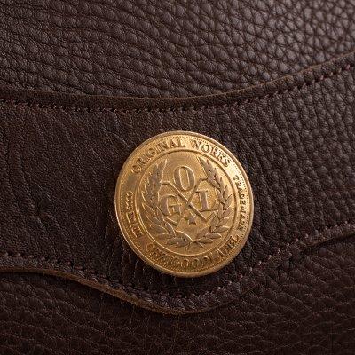 OGL 9981 Full Leather Hobo Sacoche - Brown