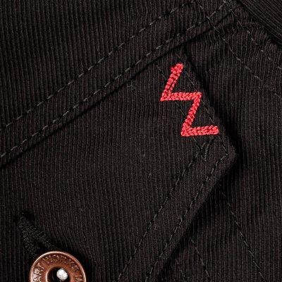 8oz Light Kersey Modified Type III Jacket – Black