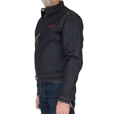 Blanket Lined 21oz Indigo Rider's Jacket