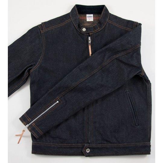 Blanket Lined 21oz Indigo Rider's Jacket