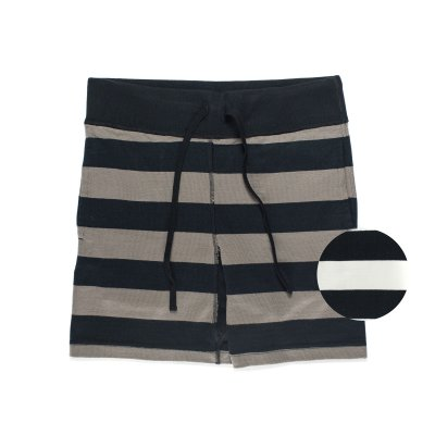 11oz  Border Knitted Cotton Shorts