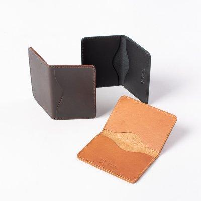 OGL Kingsman Metro Flap Style Cardholder - Black, Brown or Tan