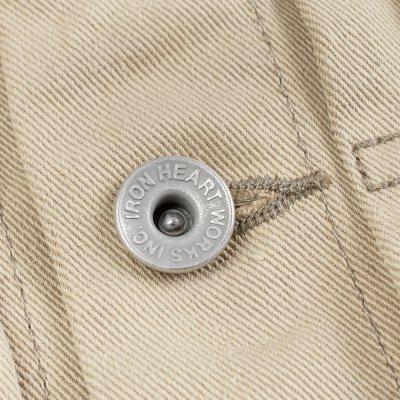 12oz Selvedge Chino Type II Jacket – Beige