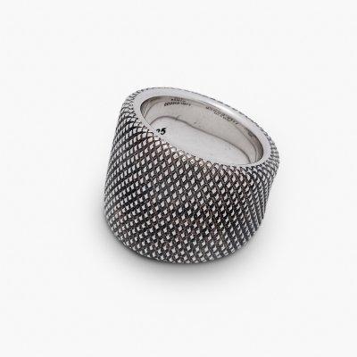 GOOD ART HLYWD Ramen Goosebumps Ring  - Sterling Silver