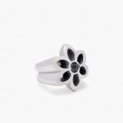 GOOD ART HLYWD Rosette Cutout Ring  - Sterling Silver