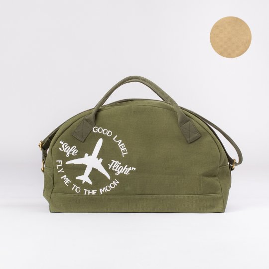 OGL Fly Me To The Moon Gym Bag - Green or Khaki