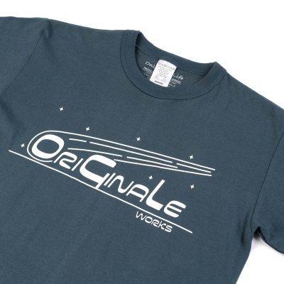 OGL 6.2oz Ringspun T-shirt - Silkscreen Printed 'OriGinaLe' - Heather Grey, Denim Blue or Olive